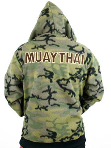 Fairtex Hooded Sweatshirt - Camouflage - FHS15