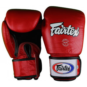 "FAIRTEX ""BREATHABLE"" MUAY THAI STYLE TRAINING GLOVES"
