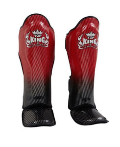 "TOP KING ""SUPER STAR"" AIR MUAY THAI SHIN GUARDS-TKSGSS-01"