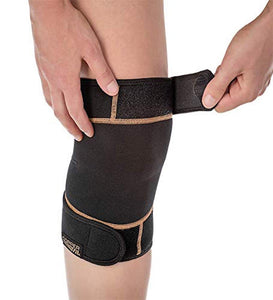 Copper Fit Rapid Relief Knee Wrap - Hot/Cold Therapy - Keeps you Healthy