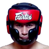 Fairtex Padded Top Diagonal Vision Headgear - HG13PD