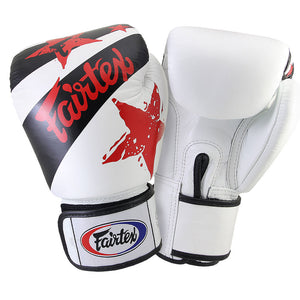 "FAIRTEX MUAY THAI ""NATIONS PRINT"" TRAINING GLOVES"