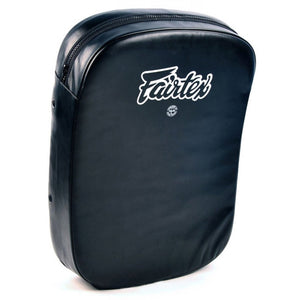 FAIRTEX KICK SHIELD PAD - FS3 - SYNTEK LEATHER - BLACK COLOR