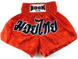 "Boon Sport ""CLASSIC"" Muay Thai Shorts - Red"