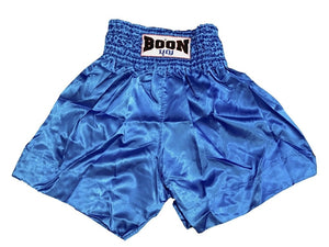 "BOON SPORT ""PLAIN RETRO"" MMA SHORTS - LIGHT BLUE"