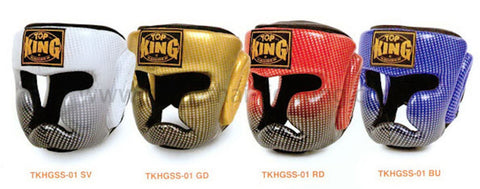 "TOP KING ""SUPER STAR"" AIR MUAY THAI HEAD GUARD-TKHGSS-01"