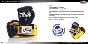 FAIRTEX MEXICAN STYLE BOXING GLOVES