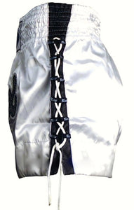 "FAIRTEX ""WHITE LACE"" MUAY THAI KICKBOXING SHORTS"