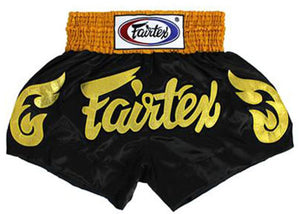 "FAIRTEX ""GOLDEN HORN"" MUAY THAI KICKBOXING SHORTS"