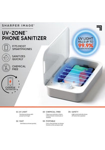 UV-Zone Phone Sanitizer by Sharper Image