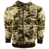 FAIRTEX HOODED SWEATSHIRT -BROWN CAMOUFLAGE