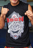 "BOON ""HANUMAN FACE"" SLEEVELESS TSHIRT"