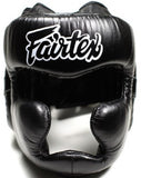 FAIRTEX DIAGONAL VISION SPARRING HEADGEAR LACE UP VERSION