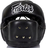 Fairtex Full Face Headgear - Wide Vision - Microfiber Material - HG14