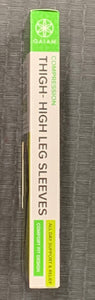 Gaiam Yoga Compression Thigh-High Leg Sleeves - All Day Support & Relief