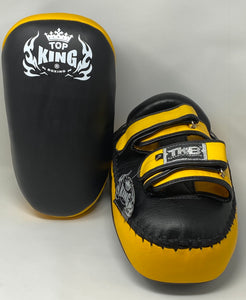 "Top King ""ULTIMATE"" Curved Thai Kicking Pads - TKKPU"