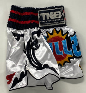TOP KING MUAY THAI KICKBOXING SHORTS - TKTBS-069