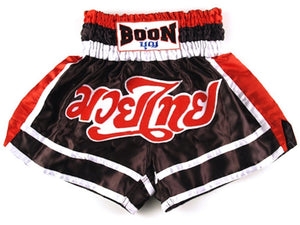 "BOON SPORT ""RED,WHITE,BLACK"" MMA RETRO SHORTS-MT11"