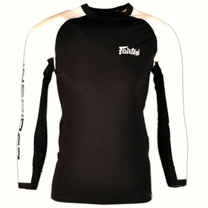 "FAIRTEX ""BE INSPIRED"" LONGSLEEVE RASHGUARD"