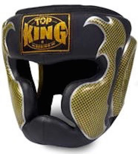 "Top King ""EMPOWER CREATIVITY"" Head Guards - TKHGEM-01-GD (Black)"