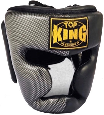 "TOP KING PROFESSIONAL HEAD GEAR ""EMPOWER CREATIVITY""-GEINUINE LEATHER-TKHGEM-02-SV (BLACK)"
