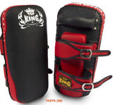 "Top King ""SUPER"" Curved Thai Kicking Pads -TKKPS"