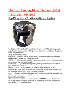 Details about  /Top King Head Guards  TKHGSS-01 All Red Protection  MUAY THAI  MMA K1 M,L,XL