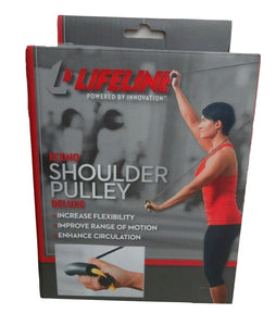 Lifeline Econo Shoulder Pulley Deluxe -Increases Flexibility & Range of Motion