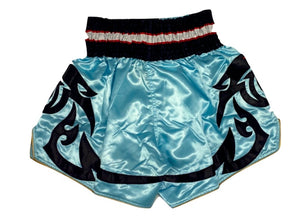 TOP KING MUAY THAI KICKBOXING SHORTS -TKTBS-045