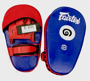 Fairtex Cardio Focus Punch and Kick Mitts - FMV12 - Soft padding for Maximum Comfort