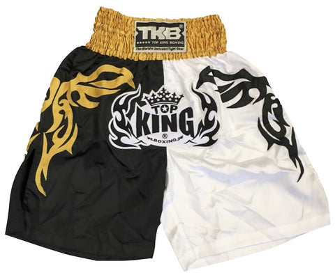 TOP KING MUAY THAI KICKBOXING K1 BOXING TRUNKS  -TKKBT-014