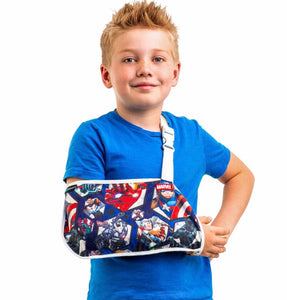 Donjoy Advantage Youth Arm Sling Featuring Marvel Avengers - Shoulder Mild