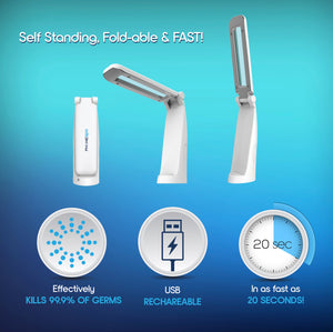 PhoneSpa Phone & Accessory Sanitizer Portable UV-C Wand