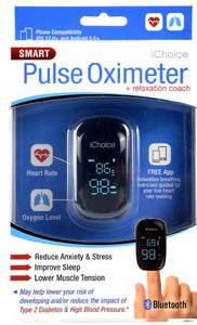IChoice Smart Pulse Oximeter with Relaxation Coach