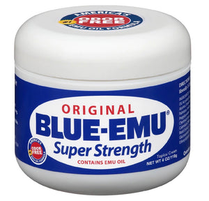 Blue-Emu Original Super Strength Cream (Odor Free Fast Acting, Non-Irritating, Deep Penetrating)