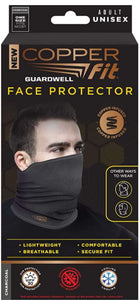Copper Fit GuardWell Face Protector Gray - One Pair - As Seen on TV
