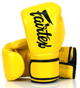MMABLAST FAIRTEX Boxing Gloves HIGH Impact Latex Foam CORE System! BGV14