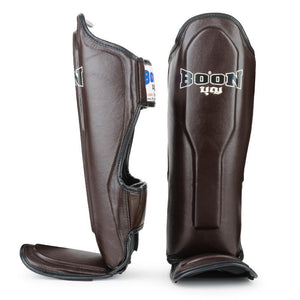 BOON SPORT PROFESSIONAL LEATHER SHIN GUARDS