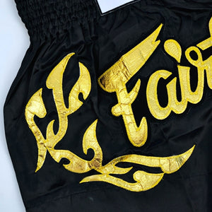 "FAIRTEX ""ETERNAL GOLD"" MUAY THAI KICKBOXING SHORTS"