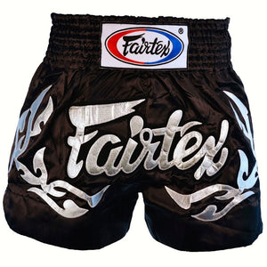 "FAIRTEX ""ETERNAL SILVER"" MUAY THAI KICKBOXING SHORTS"