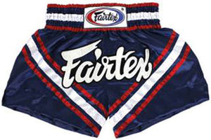 "FAIRTEX ""BRAVE"" MUAY THAI KICKBOXING SHORTS"