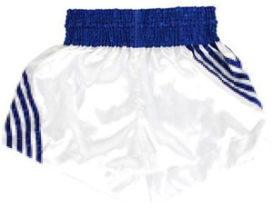 "FAIRTEX ""BLUE STRIPES"" MUAY THAI KICKBOXING SHORTS"