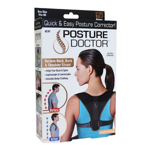 Copper Infused Posture Doctor - Relieves Neck, Back & Shoulder Strains