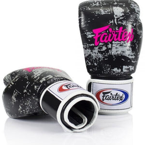 "FAIRTEX ""DARK CLOUD"" MUAY THAI STYLE TRAINING GLOVES -BGV1"