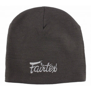 Fairtex Beanie Cotton Winter Hat - Grey