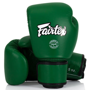 FAIRTEX MUAY THAI COMPACT LIGHTWEIGHT GENUINE LEATHER WOMENS GLOVES - BGV16