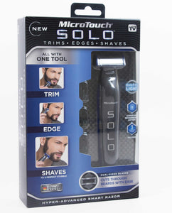 MicroTouch Solo Full Body Groomer - Cuts through Beards with Ease