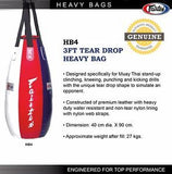 FAIRTEX 3FT TEAR DROP HEAVY BAG