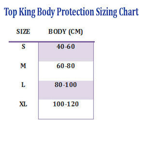 TOP KING BODY AND THIGH PROTECTOR - TKBDTP-BLACK