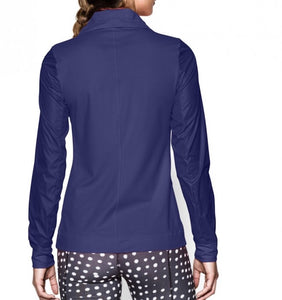 Women's Under Armour Full Zip Warm UP Track Jacket - 1260186 - Purple